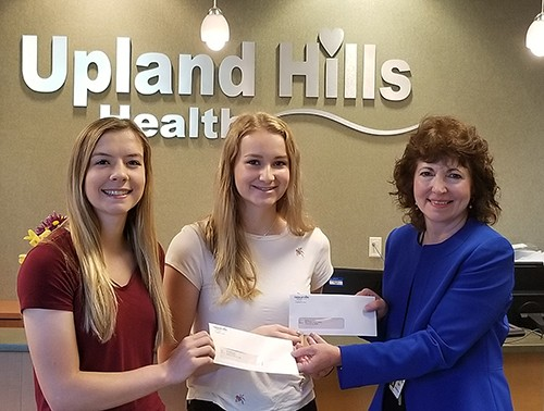 Drury and Faull Receive Healthcare Scholarship