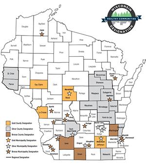 Iowa County earns Bronze Wisconsin Healthy Communities Designation