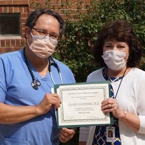 Grieshaber Earns Rural Health Ambassador Award
