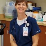 Tracy Parent, R.N., Wound Care nurse